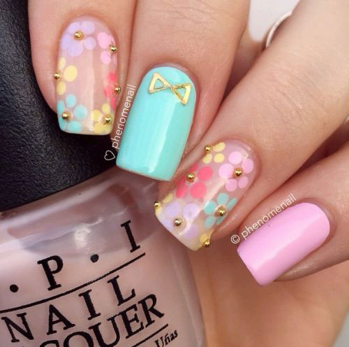 20 Simple Amp Easy Spring Nails Art Designs Amp Ideas 2017 Fabulous Nail Art Designs