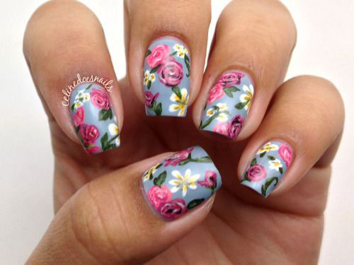 30-Spring-Floral-Nails-Art-Designs-Ideas-2017-19