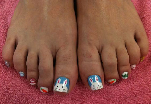 Easter-Toe-Nail-Art-Designs-Ideas-2017-2