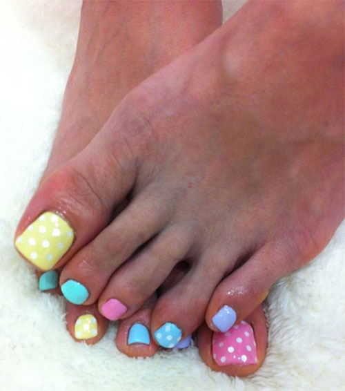 Easter Toe Nail Art - Easter Toe Nail Art Designs & Ideas 2017 Fabulous Nail Art Designs
