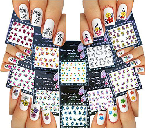 Spring-Nails-Art-Stickers-Decals-2017-1