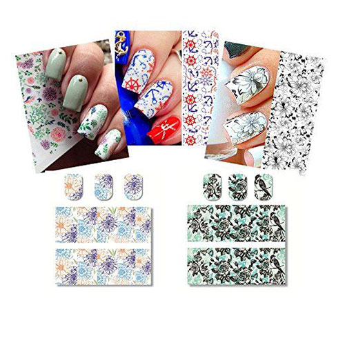 Spring-Nails-Art-Stickers-Decals-2017-2