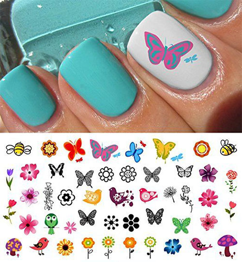 Spring-Nails-Art-Stickers-Decals-2017-3