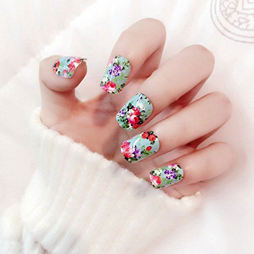 Spring-Nails-Art-Stickers-Decals-2017-4