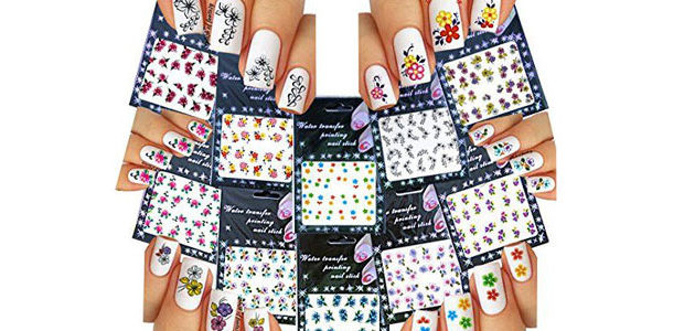 Spring Nails Art Stickers & Decals 2017