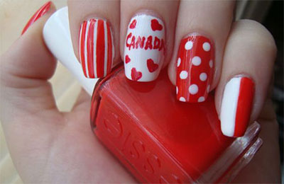 10-Canada-Flag-Nails-Art-Designs-Ideas-2017-2