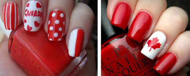 10-Canada-Flag-Nails-Art-Designs-Ideas-2017-F