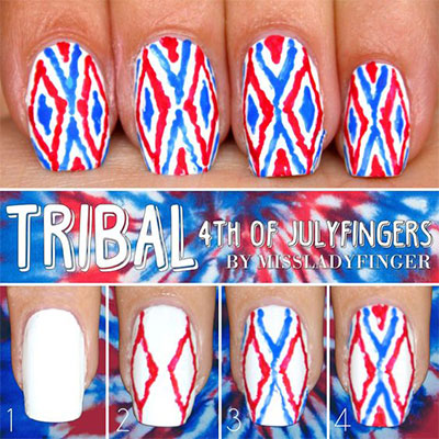 10-Easy-Step-By-Step-4th-of-July-Nails-Tutorials-For-Beginners-2017-1