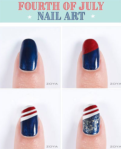 10-Easy-Step-By-Step-4th-of-July-Nails-Tutorials-For-Beginners-2017-11