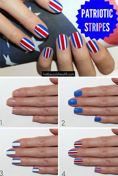 10-Easy-Step-By-Step-4th-of-July-Nails-Tutorials-For-Beginners-2017-3
