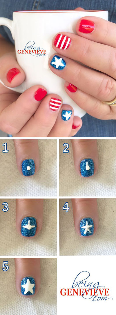 10-Easy-Step-By-Step-4th-of-July-Nails-Tutorials-For-Beginners-2017-8
