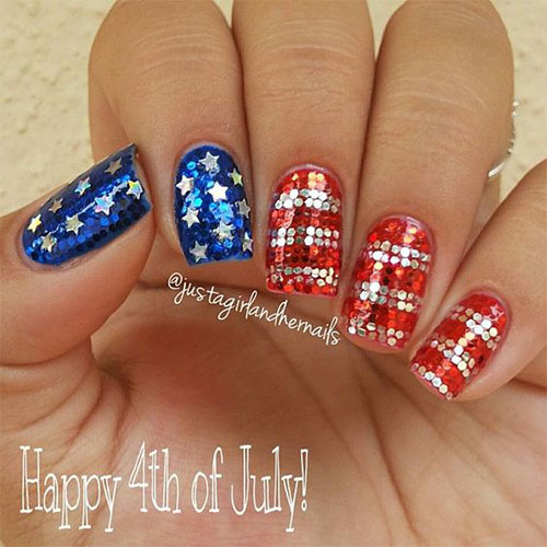 12 awesome 4th of july acrylic nail art designs amp ideas