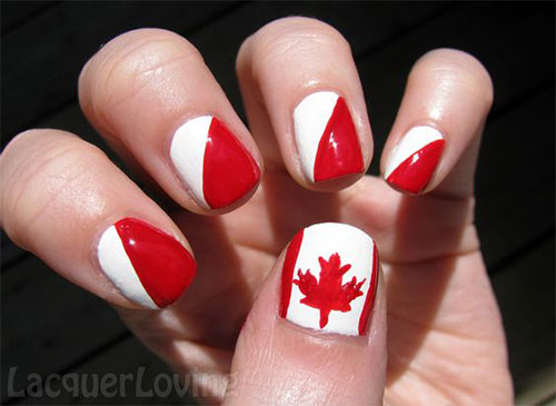 12-Easy-Canada-Day-Nails-Art-Designs-Ideas-2017-11