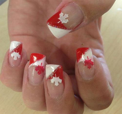 12-Easy-Canada-Day-Nails-Art-Designs-Ideas-2017-12