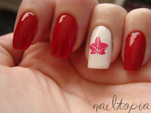 12-Easy-Canada-Day-Nails-Art-Designs-Ideas-2017-6