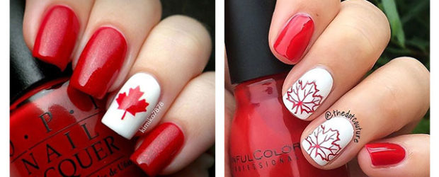 12-Easy-Canada-Day-Nails-Art-Designs-Ideas-2017-f