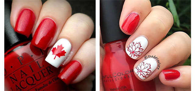12-Easy-Canada-Day-Nails-Art-Designs-Ideas-2017-f
