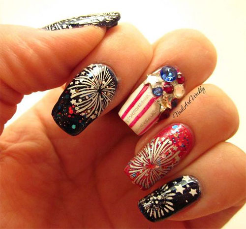 15-Amazing-4th-of-July-Fireworks-Nail-Art-Designs-Ideas-2017-11