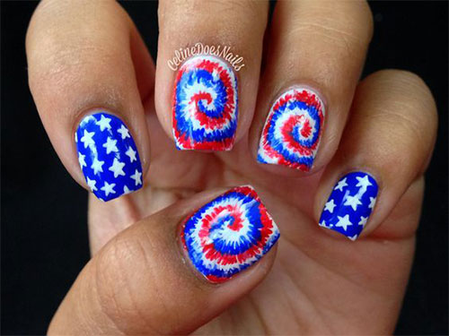 15-Amazing-4th-of-July-Fireworks-Nail-Art-Designs-Ideas-2017-14