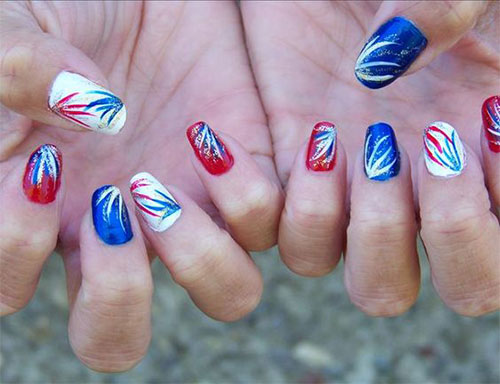 15-Amazing-4th-of-July-Fireworks-Nail-Art-Designs-Ideas-2017-4