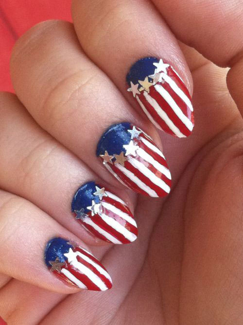 15-American-Flag-Nail-Art-Designs-Ideas-2017-4th-of-July-Nails-14