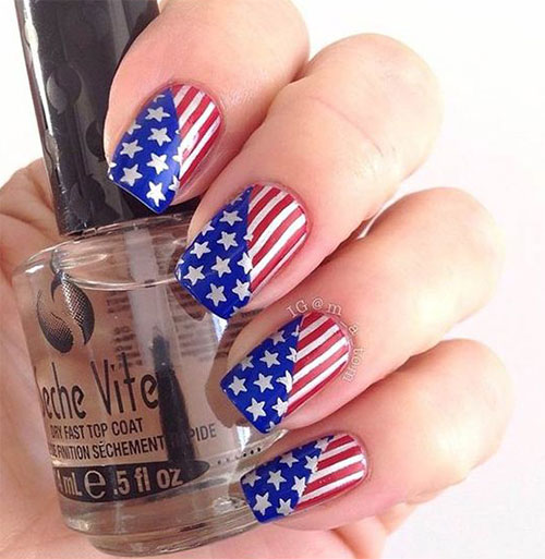 15-American-Flag-Nail-Art-Designs-Ideas-2017-4th-of-July-Nails-8