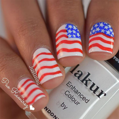 15-American-Flag-Nail-Art-Designs-Ideas-2017-4th-of-July-Nails-9