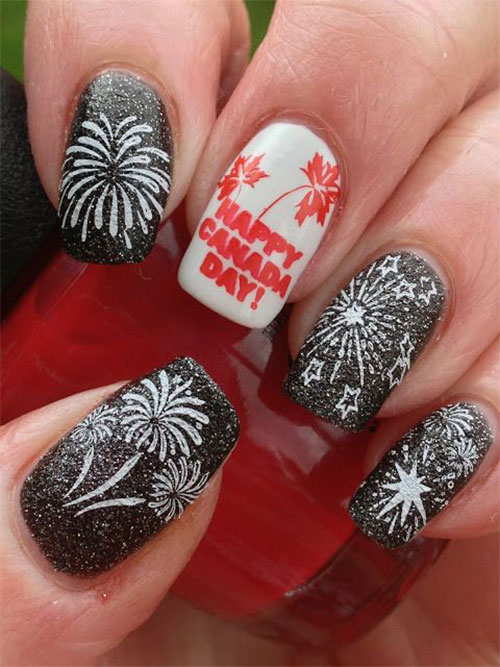 15-Canada-Day-Nails-Art-Designs-Ideas-2017-1