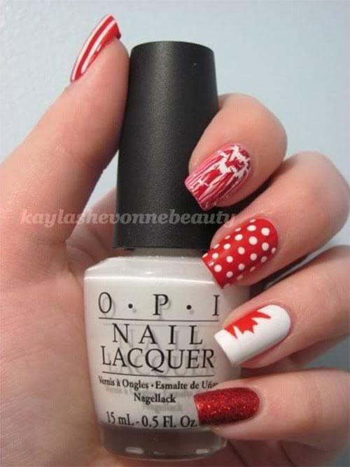 15-Canada-Day-Nails-Art-Designs-Ideas-2017-10