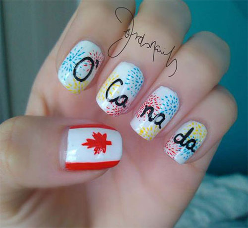15-Canada-Day-Nails-Art-Designs-Ideas-2017-13