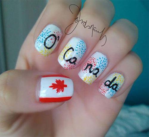 15-Canada-Day-Nails-Art-Designs-Ideas-2017-13