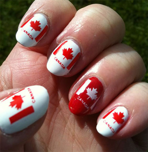 15-Canada-Day-Nails-Art-Designs-Ideas-2017-15