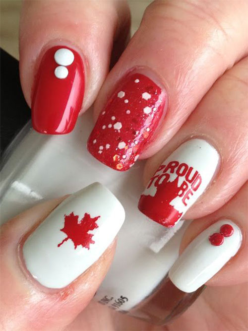15-Canada-Day-Nails-Art-Designs-Ideas-2017-4