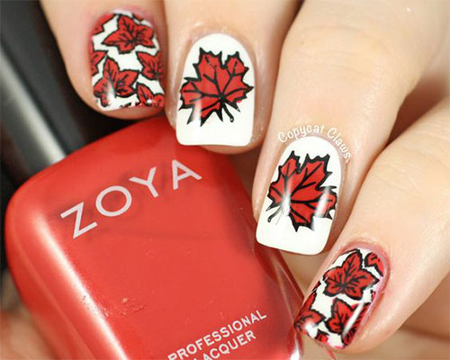 15-Canada-Day-Nails-Art-Designs-Ideas-2017-5