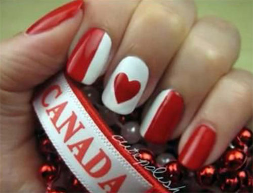 15-Canada-Day-Nails-Art-Designs-Ideas-2017-9