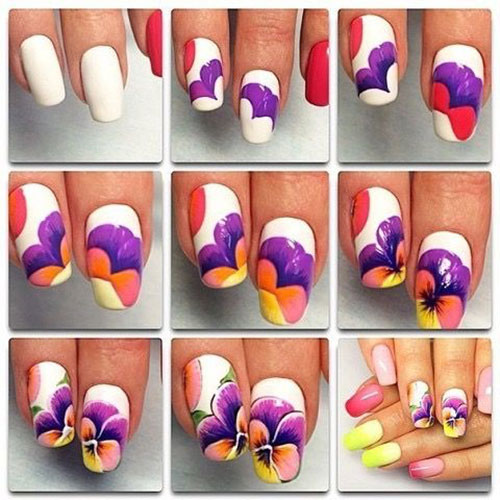 25-Easy-Simple-Spring-Nails-Art-Tutorials-For-Beginners-2017-12