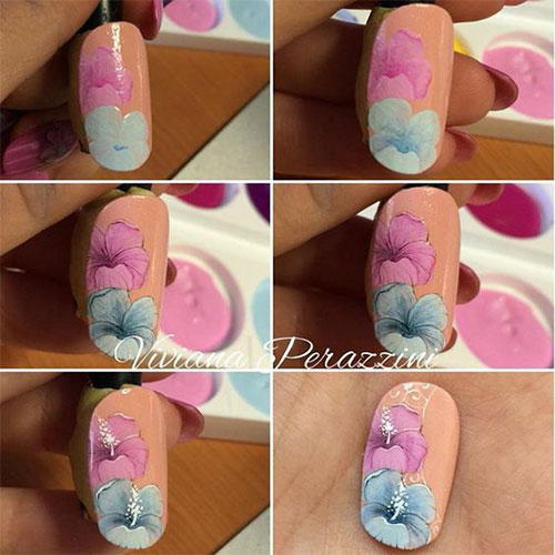 25-Easy-Simple-Spring-Nails-Art-Tutorials-For-Beginners-2017-14