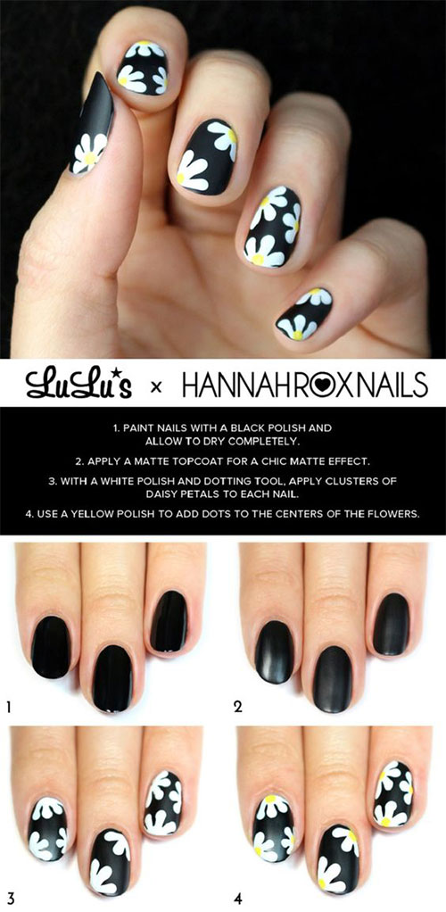 25-Easy-Simple-Spring-Nails-Art-Tutorials-For-Beginners-2017-16