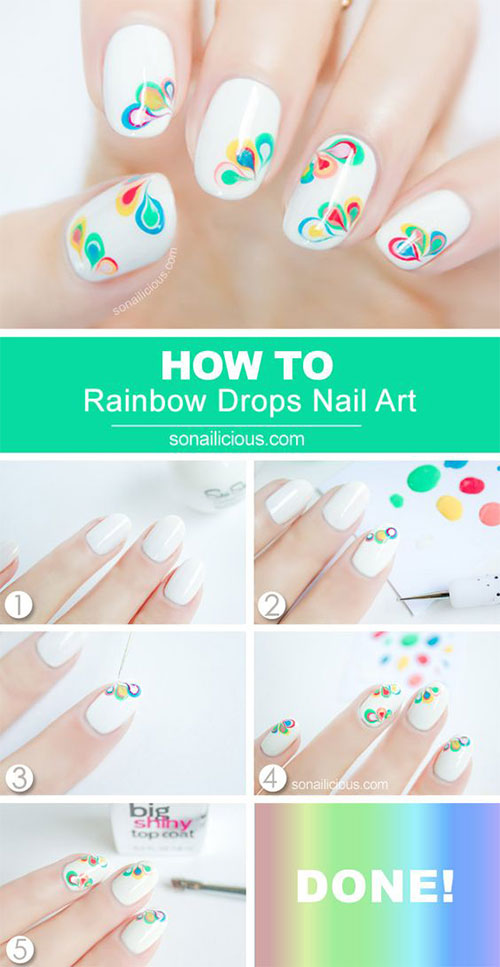 25-Easy-Simple-Spring-Nails-Art-Tutorials-For-Beginners-2017-20