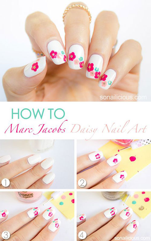 25-Easy-Simple-Spring-Nails-Art-Tutorials-For-Beginners-2017-21