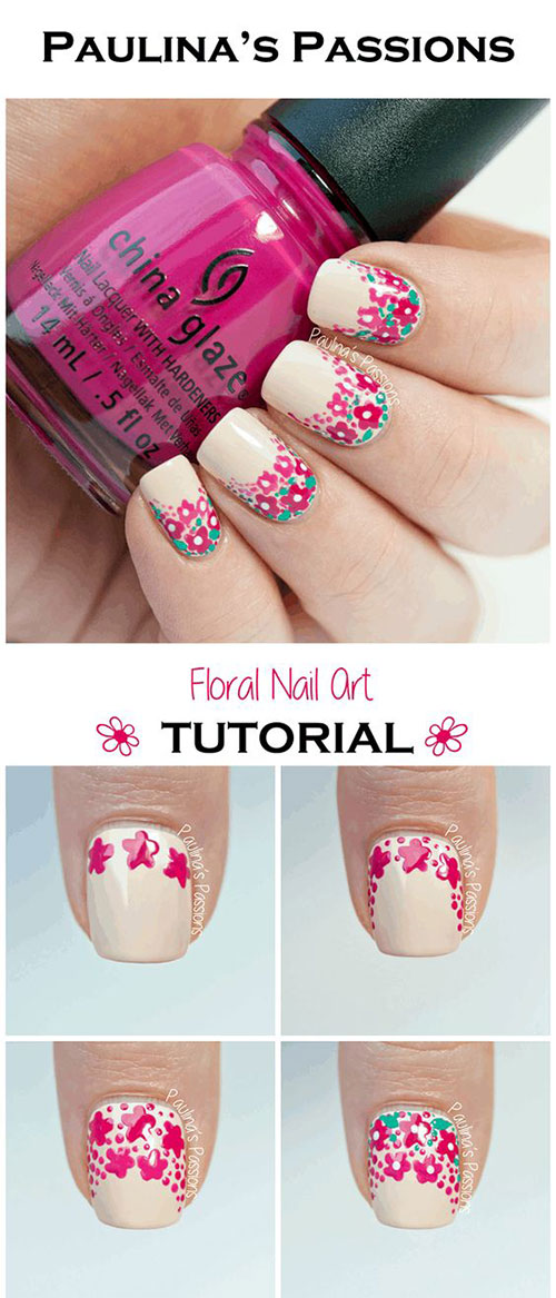 25-Easy-Simple-Spring-Nails-Art-Tutorials-For-Beginners-2017-22