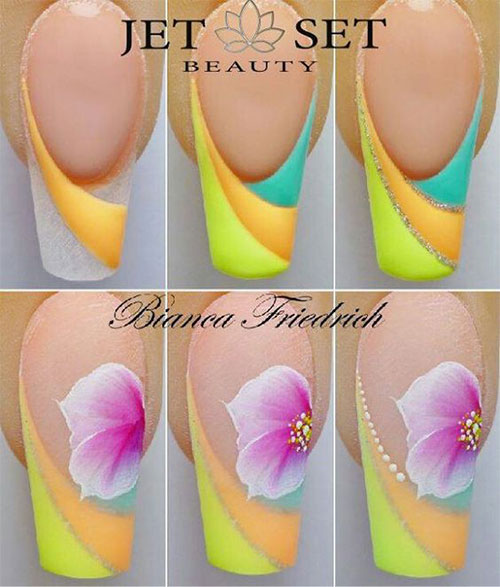 25-Easy-Simple-Spring-Nails-Art-Tutorials-For-Beginners-2017-3