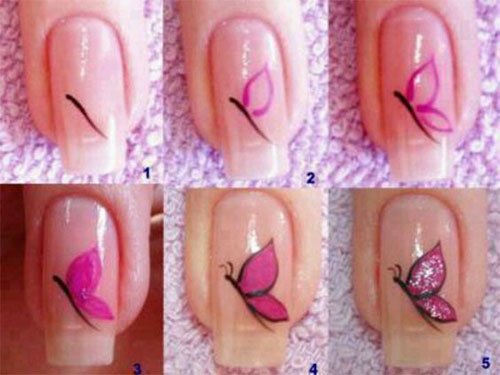 25-Easy-Simple-Spring-Nails-Art-Tutorials-For-Beginners-2017-7