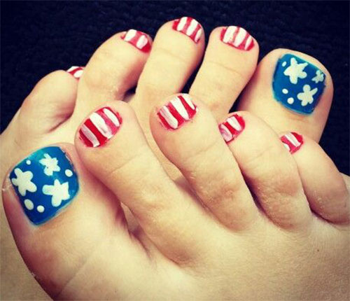 4th-of-July-Toe-Nails-Art-Designs-Ideas-2017-7
