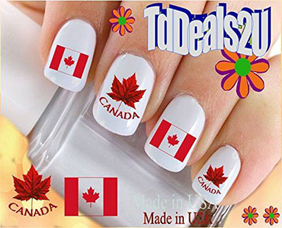 Canada-Day-Nails-Stickers-Decals-2017-3