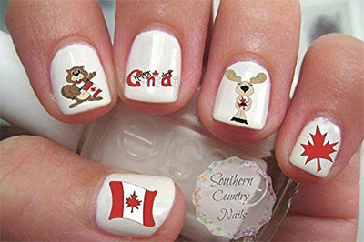 Canada-Day-Nails-Stickers-Decals-2017-4