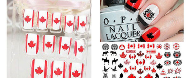 Canada-Day-Nails-Stickers-Decals-2017-f
