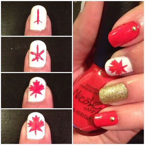 Easy-Step-By-Step-Canada-Nails-Tutorials-For-Beginners-2017-1