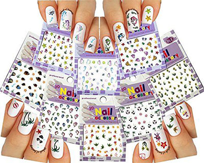 10-Summer-Nails-Art-Decals-Stickers-2017-1