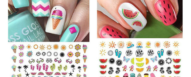 10-Summer-Nails-Art-Decals-Stickers-2017-f